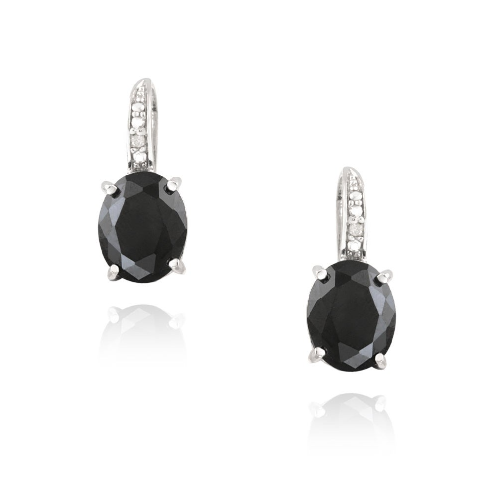 earrings earring coomi with spinel black products short affinity