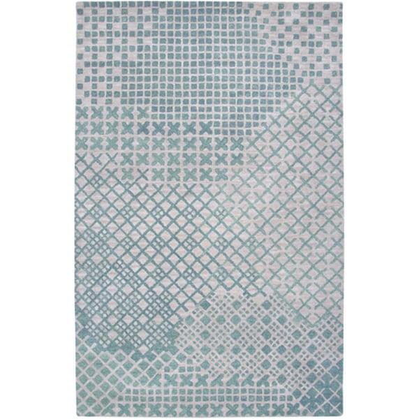 Hand-tufted Hesiod Beige Rug (8' x 10')