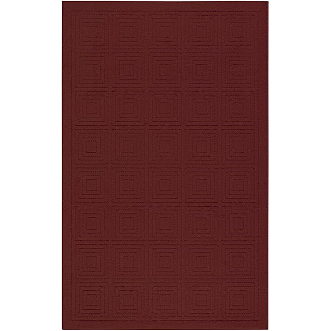Transom Mahogany Red Rug (5' x 8')