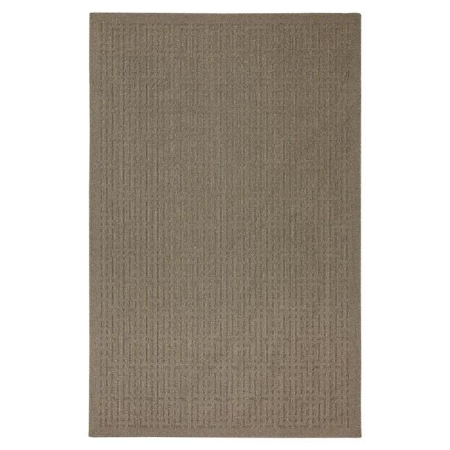 Stacks Taupe Rug (5' x 7')