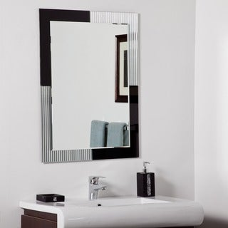 Jasmine Modern Frame-less Bathroom Mirror