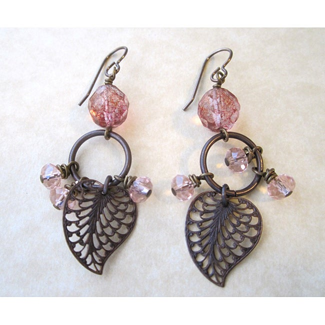 Vintage Majestic Leaf Earrings