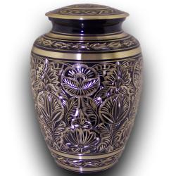 Star Legacy's Royal Brass Medium Pet Urn for Pets Up to 45 Pounds