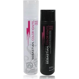 Sebastian Single Tone Color Ignite 8.45 oz. Shampoo and Conditioner