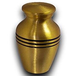Star Legacy Keepsake Brushed Brass Pet Urn