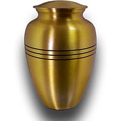 Star Legacy Large Brushed Brass Pet Urn