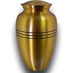 Star Legacy Extra Large Brushed Brass Pet Urn