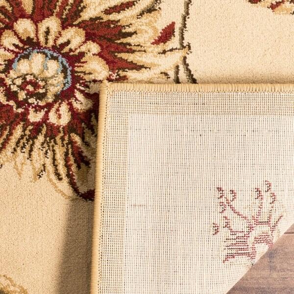 Safavieh Lyndhurst Traditional Floral Ivory/ Multi Rug (2'3 x 12')