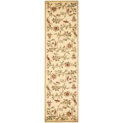 Safavieh Lyndhurst Traditional Floral Ivory/ Multi Rug (2'3 x 8')