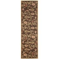 Safavieh Lyndhurst Traditional Floral Brown/ Multi Rug (2'3 x 16')