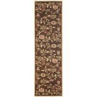 Safavieh Lyndhurst Traditional Floral Brown/ Multi Rug (2'3 x 8')