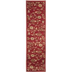 Safavieh Lyndhurst Traditional Floral Red/ Multi Rug (2'3 x 12')