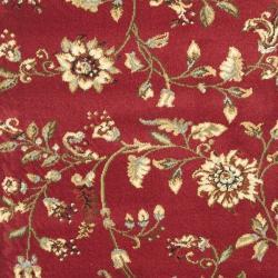 Safavieh Lyndhurst Traditional Floral Red/ Multi Rug (2'3 x 16') - Thumbnail 2
