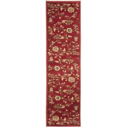 Safavieh Lyndhurst Traditional Floral Red/ Multi Rug (2'3 x 16')