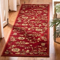"Safavieh Lyndhurst Traditional Floral Red/ Multi Rug - 2'3"" x 8'"