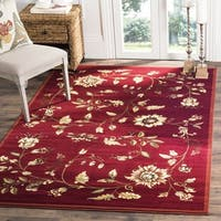 "Safavieh Lyndhurst Traditional Floral Red/ Multi Rug - 3'3"" x 5'3"""
