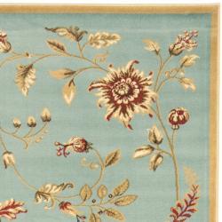 Safavieh Lyndhurst Traditional Floral Blue/ Multi Rug (3'3 x 5'3)