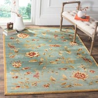 Safavieh Lyndhurst Traditional Floral Blue/ Multi Rug - 5'3' x 7'6'