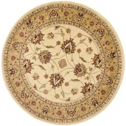 Safavieh Lyndhurst Traditional Oriental Ivory/ Beige Rug (5'3 Round)