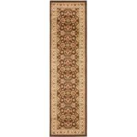 "Safavieh Lyndhurst Traditional Oriental Brown/ Ivory Rug - 2'3"" x 12'"