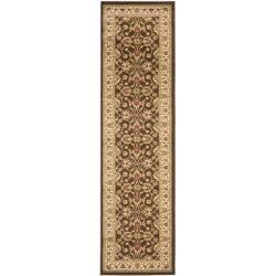 Safavieh Lyndhurst Traditional Oriental Brown/ Ivory Rug (2'3 x 8')