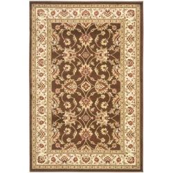 Safavieh Lyndhurst Traditional Oriental Brown/ Ivory Rug (3'3 x 5'3)