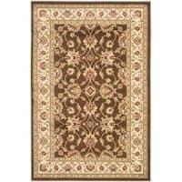 Safavieh Lyndhurst Traditional Oriental Brown/ Ivory Rug - 3'3 x 5'3