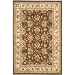 Safavieh Lyndhurst Traditional Oriental Brown/ Ivory Rug (4' x 6')