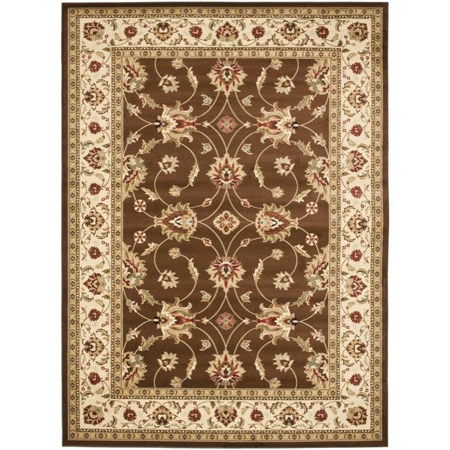 Safavieh Lyndhurst Traditional Oriental Brown/ Ivory Rug (8' x 11')
