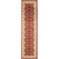 "Safavieh Lyndhurst Traditional Oriental Red/ Ivory Rug (2'3 x 16') - 2'3"" x 16'"
