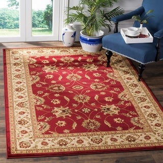 Safavieh Lyndhurst Traditional Oriental Red/ Ivory Rug (6'7 x 9'6)