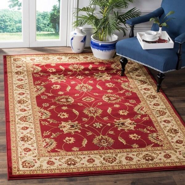 Safavieh Lyndhurst Traditional Oriental Red/ Ivory Rug - 8'9 x 12'
