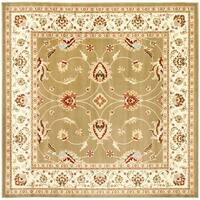 Safavieh Lyndhurst Traditional Oriental Green/ Ivory Rug (6'7 Square) - 6'7 Square