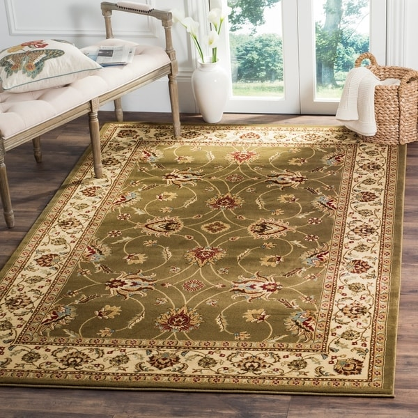 how to get area rug to lay flat