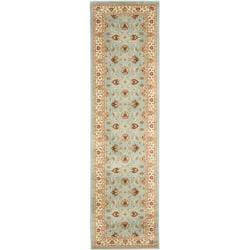 Safavieh Lyndhurst Traditional Oriental Blue/ Ivory Rug (2'3 x 12')