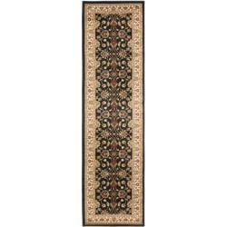 Safavieh Lyndhurst Traditional Oriental Black/ Ivory Rug (2'3 x 16')
