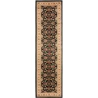 "Safavieh Lyndhurst Traditional Oriental Black/ Ivory Rug - 2'3"" x 16'"