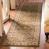 "Safavieh Lyndhurst Traditional Tabriz Brown/ Ivory Rug - 2'3"" x 12'"