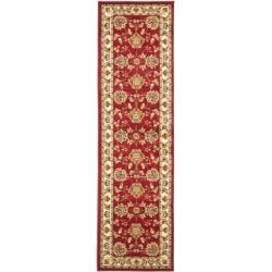 Safavieh Lyndhurst Traditional Tabriz Red/ Ivory Rug (2'3 x 12')