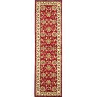 "Safavieh Lyndhurst Traditional Tabriz Red/ Ivory Rug - 2'3"" x 12'"