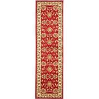 "Safavieh Lyndhurst Traditional Tabriz Red/ Ivory Rug - 2'3"" x 12'"