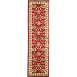 Safavieh Lyndhurst Traditional Tabriz Red/ Ivory Rug (2'3 x 16')