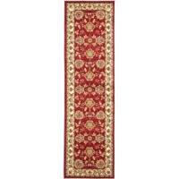 "Safavieh Lyndhurst Traditional Tabriz Red/ Ivory Rug - 2'3"" x 8'"