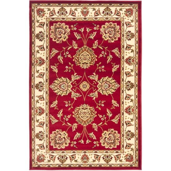 Safavieh Lyndhurst Traditional Tabriz Red/ Ivory Rug - 3'3 x 5'3