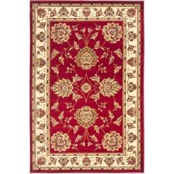 Safavieh Lyndhurst Traditional Tabriz Red/ Ivory Rug - 3'3 x 5'3 - Thumbnail 0