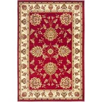 "Safavieh Lyndhurst Traditional Tabriz Red/ Ivory Rug - 3'3"" x 5'3"""