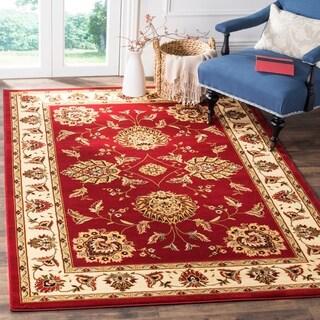 Safavieh Lyndhurst Traditional Tabriz Red/ Ivory Rug (4' x 6')