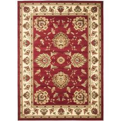 Safavieh Lyndhurst Traditional Tabriz Red/ Ivory Rug (6'7 x 9'6)