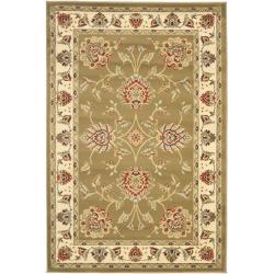 Safavieh Lyndhurst Traditional Tabriz Green/ Ivory Rug (3'3 x 5'3)