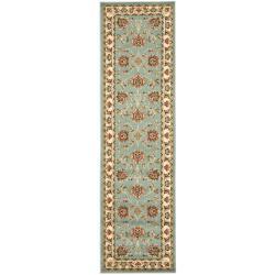 Safavieh Lyndhurst Traditional Tabriz Blue/ Ivory Rug (2'3 x 12')